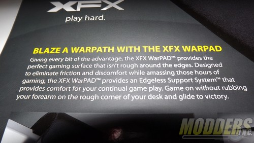 XFX ~ Warpad Review and Video for Modders~Inc. Crisp Brand Agency, Gaming Mouse, MousePad, XFX, XFX warpad 2