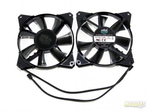 Bundled 140mm fans based on CM JetFlo design
