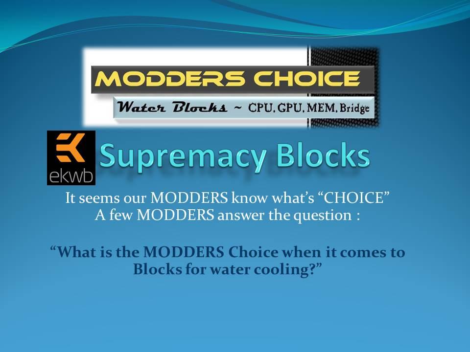 Modders Choice - Water Cooling Blocks EKWB, Modders Choice, Water Blocks, Water Cooling, XSPC 3