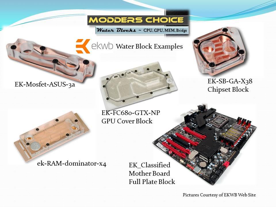 Modders Choice - Water Cooling Blocks EKWB, Modders Choice, Water Blocks, Water Cooling, XSPC 6