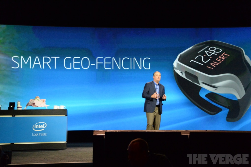 Intel CEO Unveils Wearables ~ CES 2014 Keynote Address DSC 0366