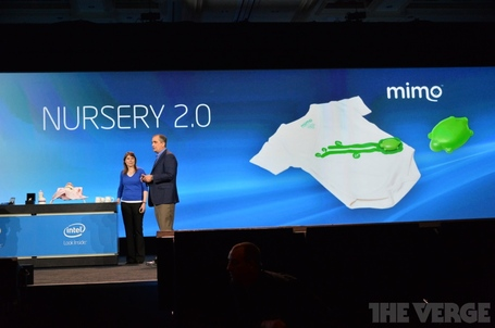 Intel CEO Unveils Wearables ~ CES 2014 Keynote Address DSC 0378 medium