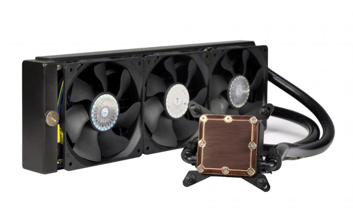 Cooler Master CES 2014 Sneak Peak – NEW Upcoming AIO Cooler Sneak Peak – Glacer 360L 360 radiator, AIO Cooler, CES, CES 2014, Closed loop, CM, Cooler Master, CPU Cooler, Glacer 360L 1