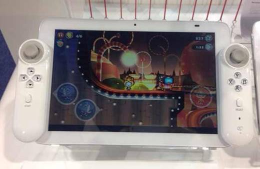 Glasses-free 3D Gaming Tablet News ~ Hampoo Makes Spalsh at CES 2014 3D Systems, 3D Tablet, Glasses free 3D, Hampoo, Tablet 1