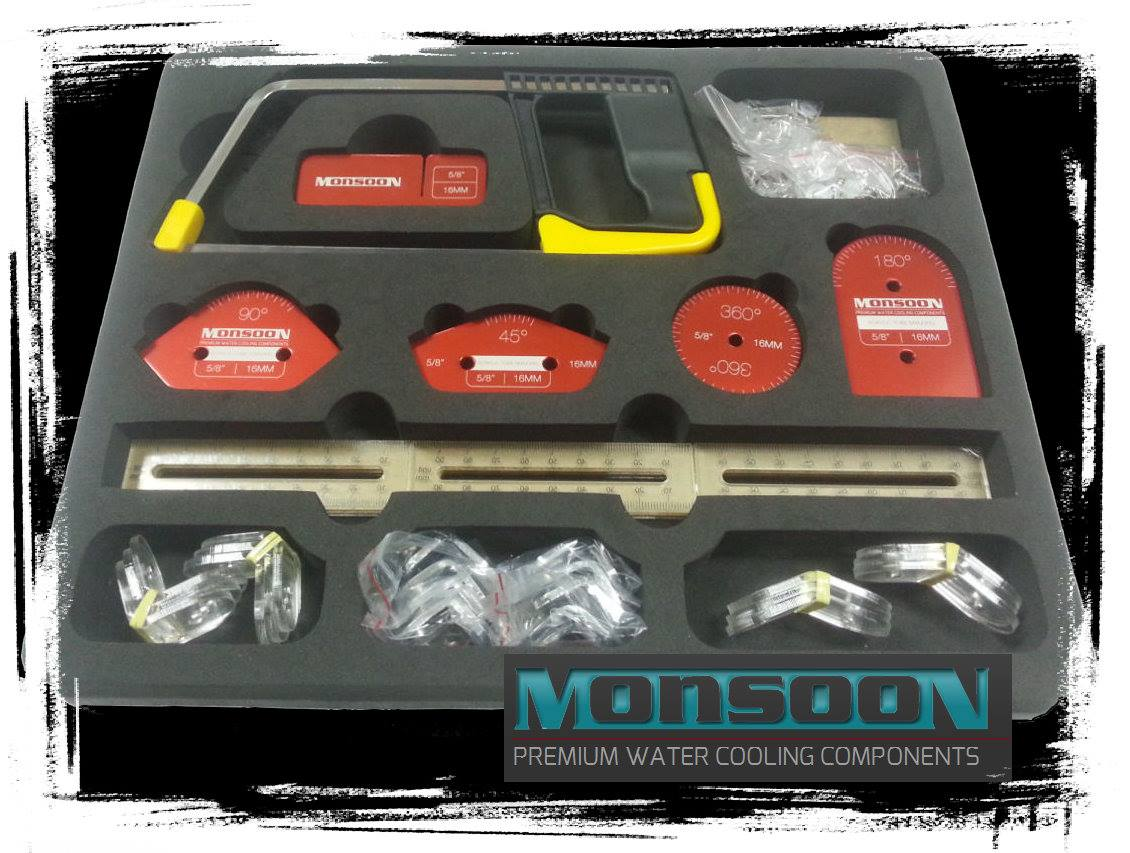 MONSOON Makes the BEST BETTER ~ PROFESSIONAL Hardline Toolkit EXCLUSIVE! HARDLINE, Hardline Toolkit, Liquid Cooling, Monsoon, MONSOON Water Cooling, Performance-PCs, Tube Bending, Water Cooler, WC 11