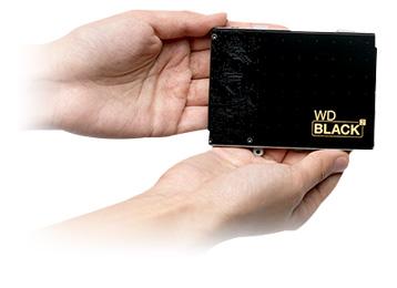 Western Digital ~ WD Black² 2.5 Inch 1TB HDD / 120GB SSD HDD, Hybrid 2.5 inch Hybrid Drive, SSD, Western Digital 1