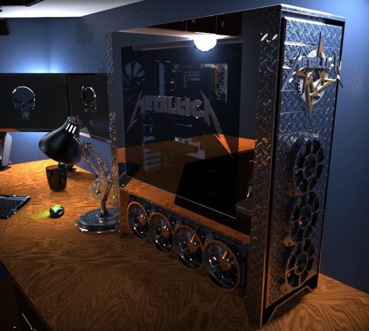 Michael Kaiser's UNFORGIVEN ~ A Metallica Tribute Case Mod Covers CPU Magazine 1528503 412568418873439 687355262 n