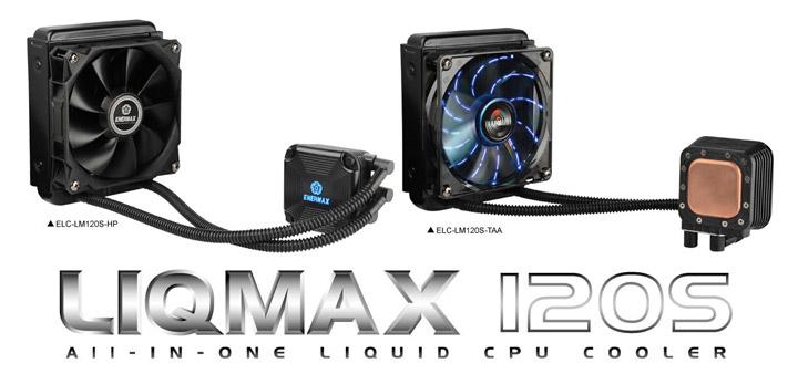 Enermax LIQMAX 120S All-In-One CPU Cooler CPU Cooler, Enermax, Water Cooler 1