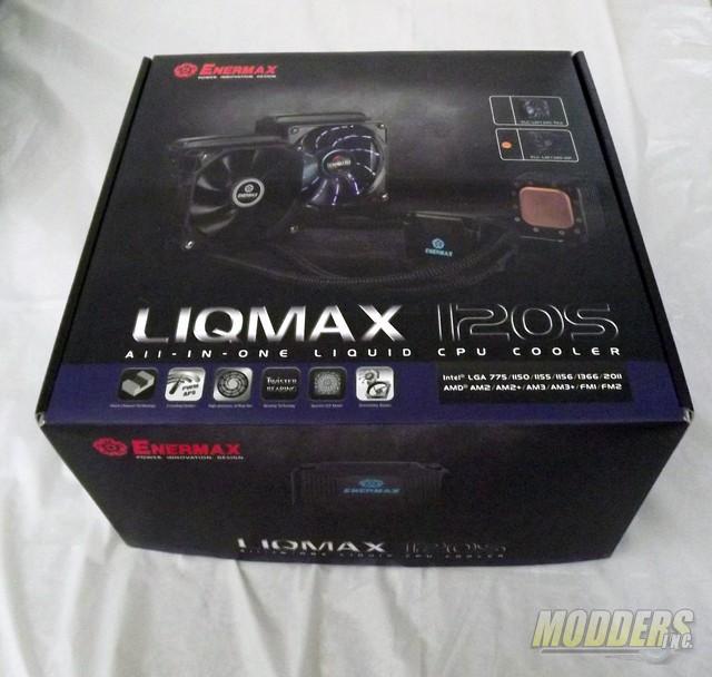 Enermax LIQMAX 120S All-In-One CPU Cooler CPU Cooler, Enermax, Water Cooler 2