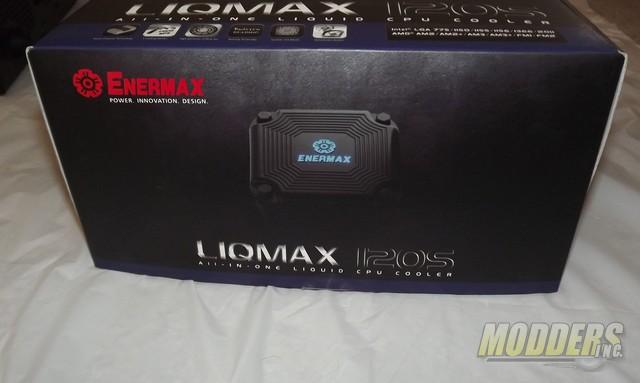 Enermax LIQMAX 120S All-In-One CPU Cooler CPU Cooler, Enermax, Water Cooler 6