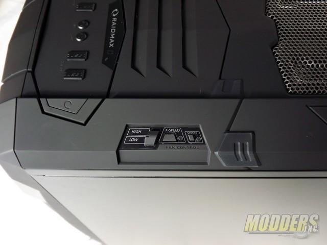 Raidmax Vampire Full Tower ATX Case Fan Controller