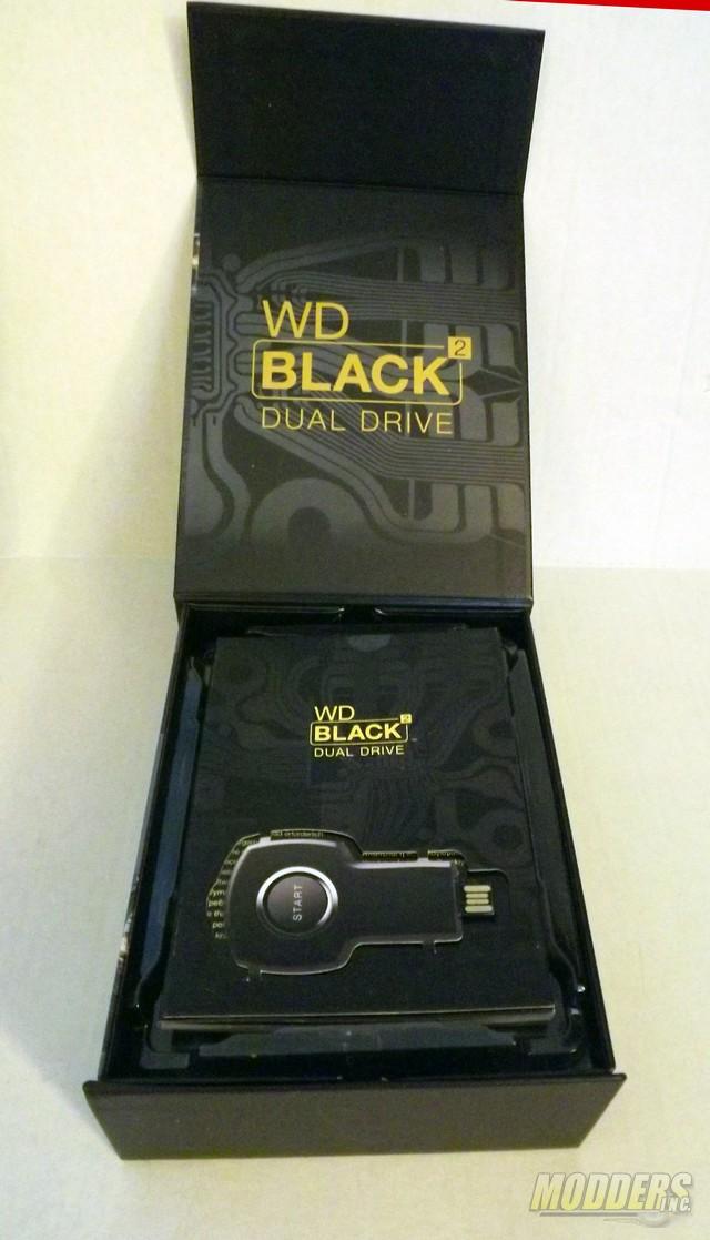 Western Digital WD Black² 2.5-inch Dual Drive (SSD + HDD) Hybrid 2.5 inch Hybrid Drive, SSD, WD, Western Digital 4