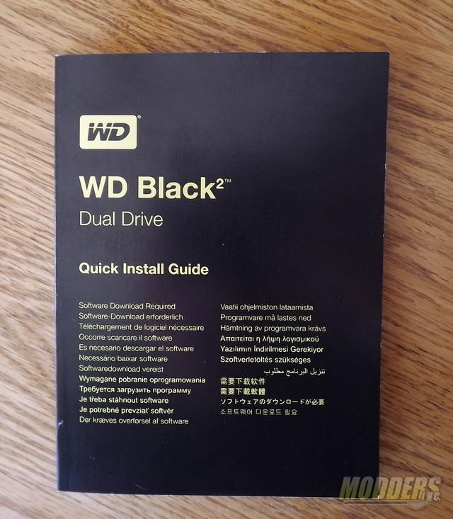Western Digital WD Black² 2.5-inch Dual Drive (SSD + HDD) Hybrid 2.5 inch Hybrid Drive, SSD, WD, Western Digital 1