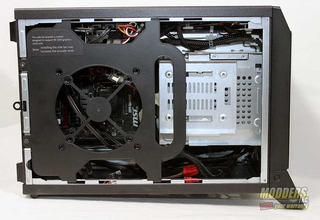 msi nightblade barebone system review page 3 of 7 modders inc. Black Bedroom Furniture Sets. Home Design Ideas