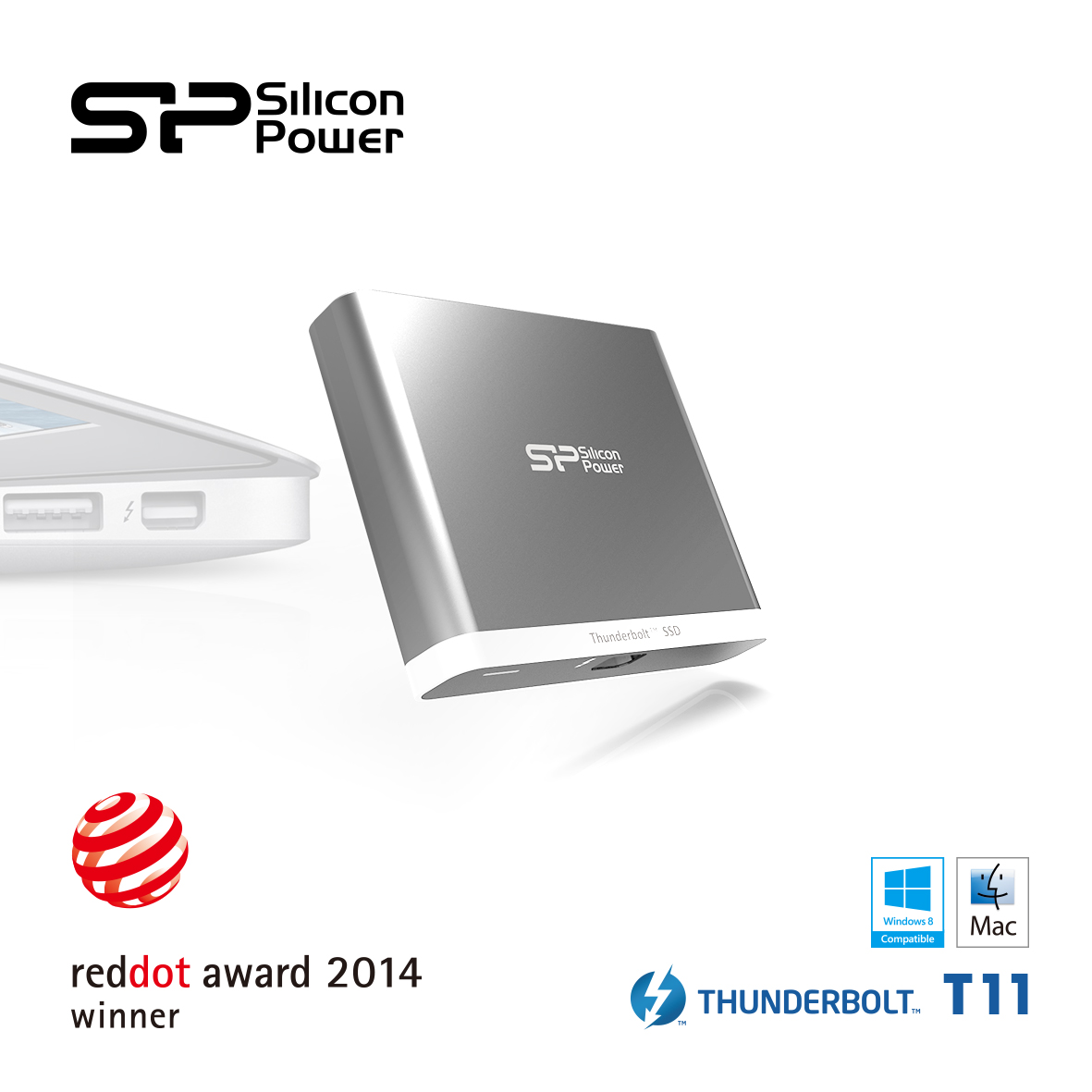 SP/ Silicon Power wins the award from Red Dot Design Award 2014 SiliconPower, SSD, USB 3.0, USB Flash Drive 1