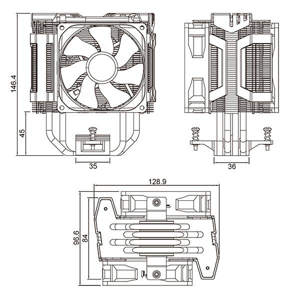 cooler master hyper d92 cpu cooler review  u2014 page 2 of 5