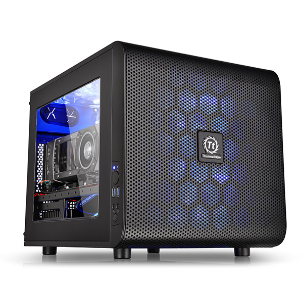 Thermaltake Core V21 Micro Atx Stackable Case Now