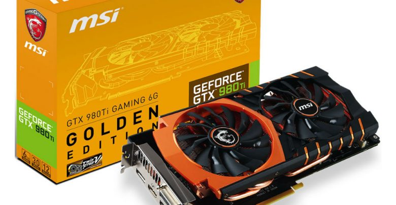 Photo of GTX 980Ti Gets the MSI Gaming Golden Edition Treatment