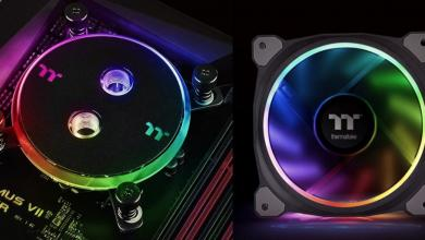 Photo of More RGB from Thermaltake as Pacific W4 CPU Block and Riing Plus 12 Fans Launched