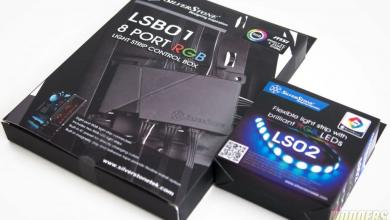 Photo of Silverstone LS02 RGB LED Strip with LSB01 RGB Control Box Review