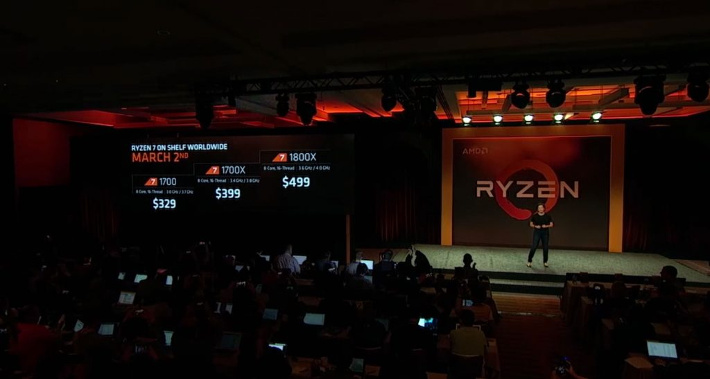 AMD Ryzen CPU Now Available for Pre-Order (Worldwide Price Compilation)