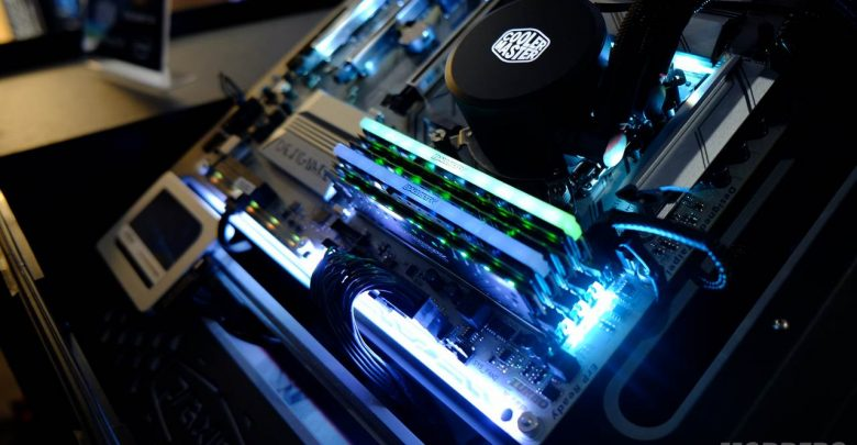 Photo of Crucial Previews Ballistix Tactical RGB LED Memory @ Computex 2017