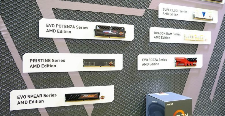 Photo of GeIL Shows Off Entire Line of Ryzen Ready DDR4 Memory @ Computex 2017