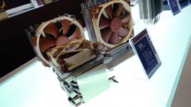 Photo of New Noctua Threadripper Heatsinks and 5V Fans @ Computex 2017