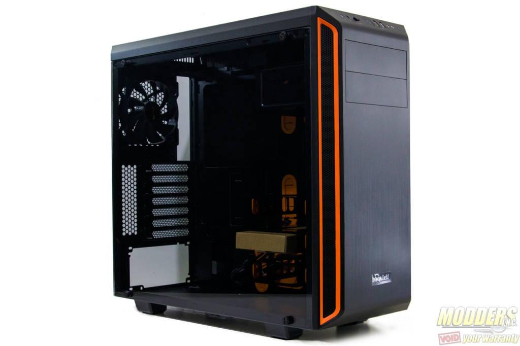 Orange be quiet Pure Base 600 No Power Supply ATX Mid Tower w// Window