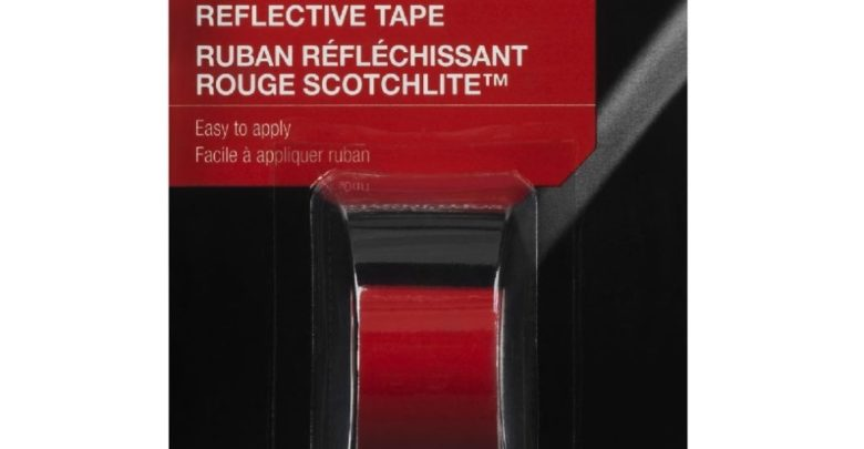 Photo of 3M Red Reflective Tape Review