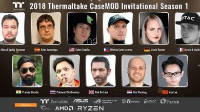 Photo of Thermaltake Announces the 2018 CaseMOD Invitational Season 1