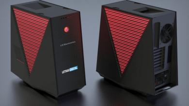 Photo of LG Gaming PC and Case