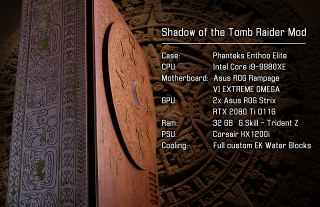 Shadow of the Tomb Raider Case Mod
