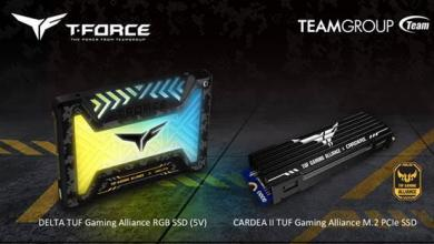 Photo of TEAMGROUP partners with ASUS TUF Gaming Alliance