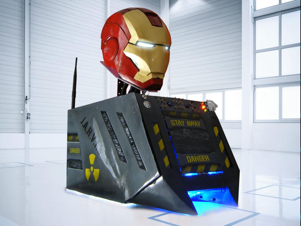 Iron Man Helmet Case Mod featured case mod, Iron Man