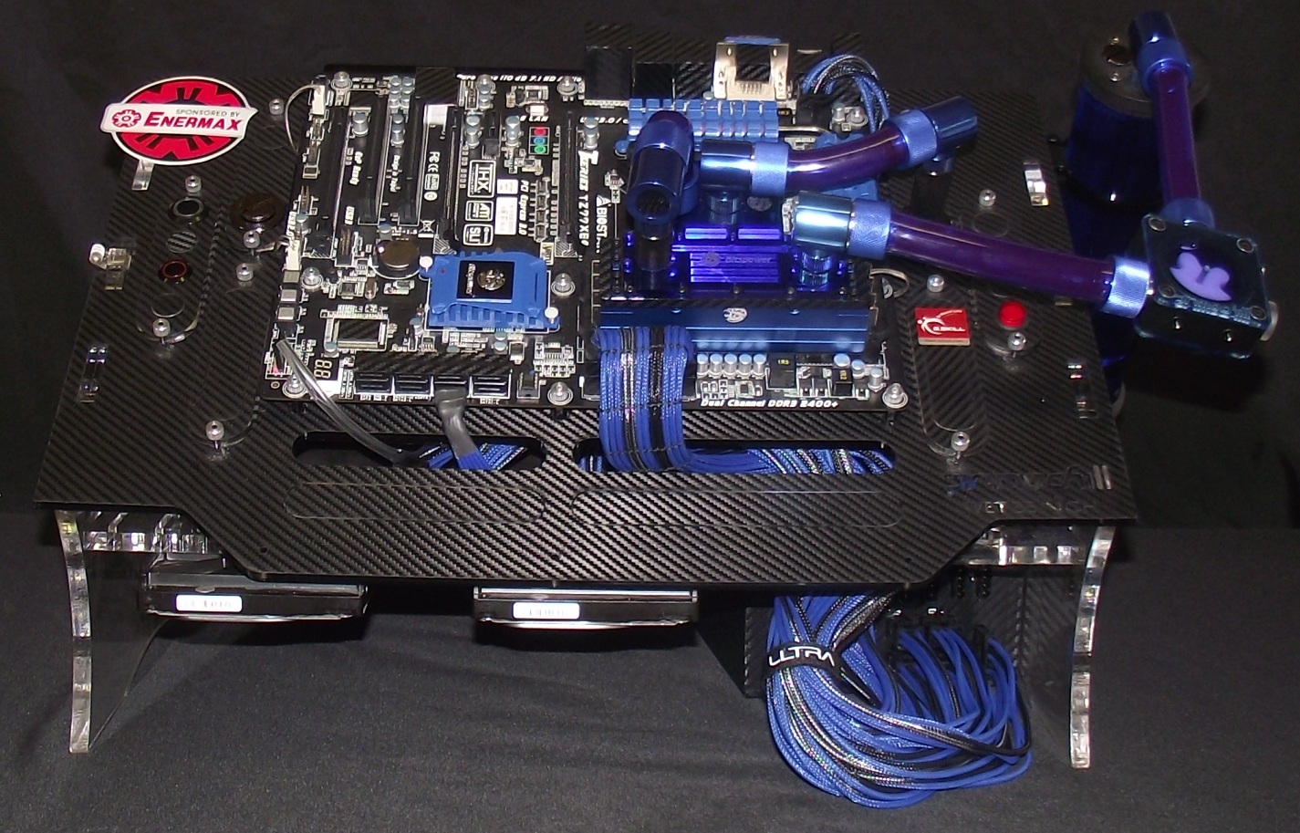 Primochill Pre Production Wet Bench Casae Mod 1