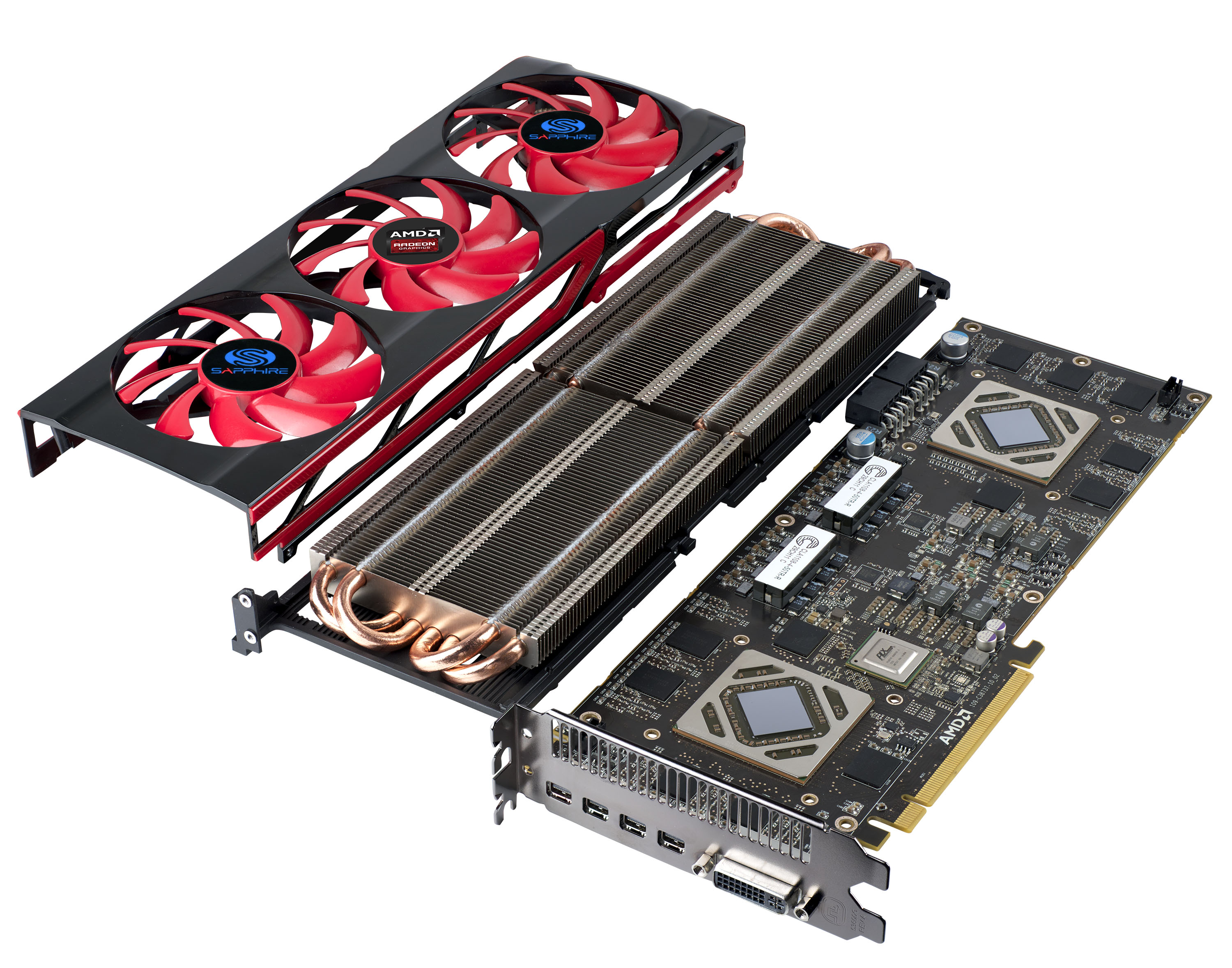 AMD and SAPPHIRE Releases The SAPPHIRE HD 7990 AMD, Sapphire, Video Card 3