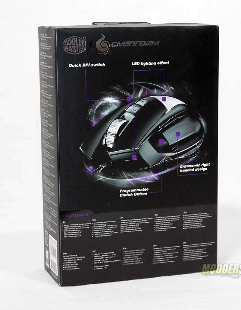 CM Storm Reaper Mouse from the Aluminum Gaming Series CM Storm, Gaming Mouse 2