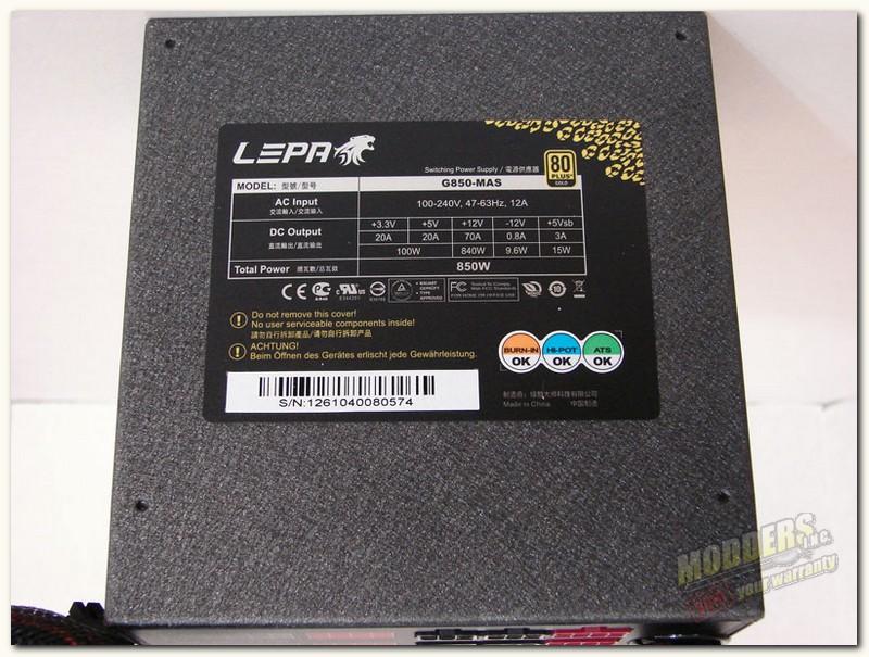 Leap specification side