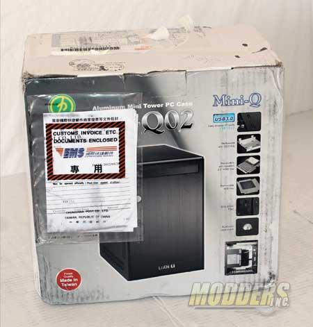 LIAN LI PC-Q02 Mini ITX Case Lian Li, Mini-ITX