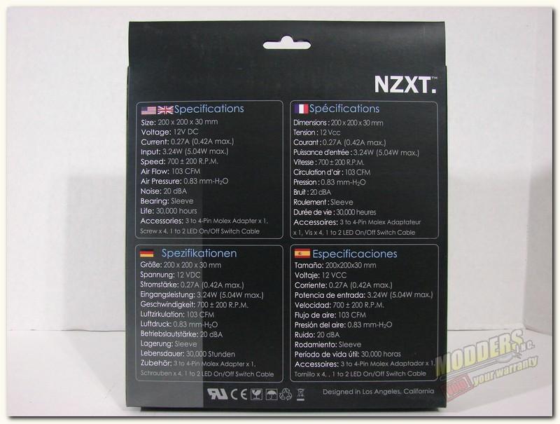 FZ200 LED Box rear
