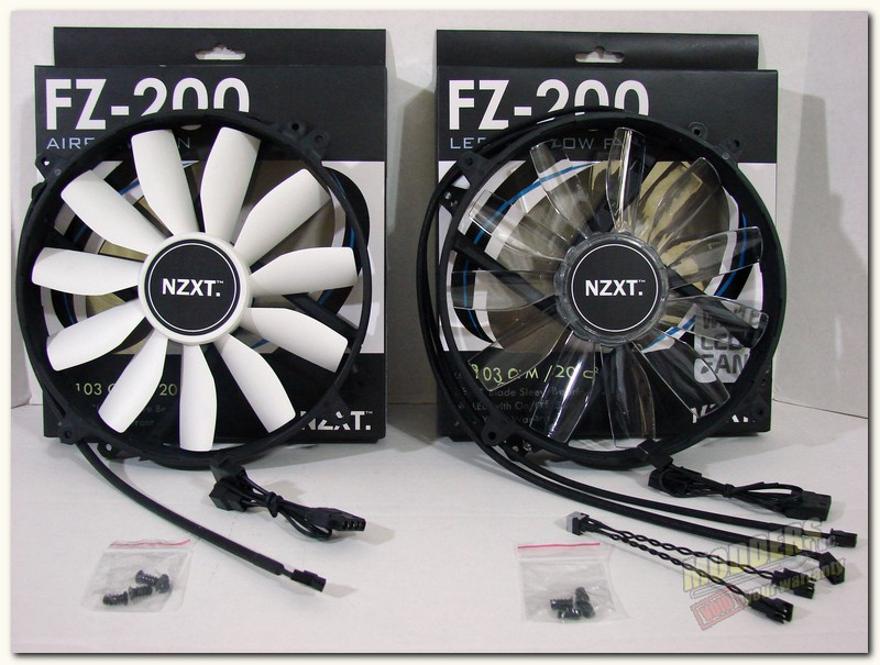 NZXT FZ-200 Fans Outof the box.