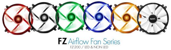 NZXT FZ-200 Fan Lineup