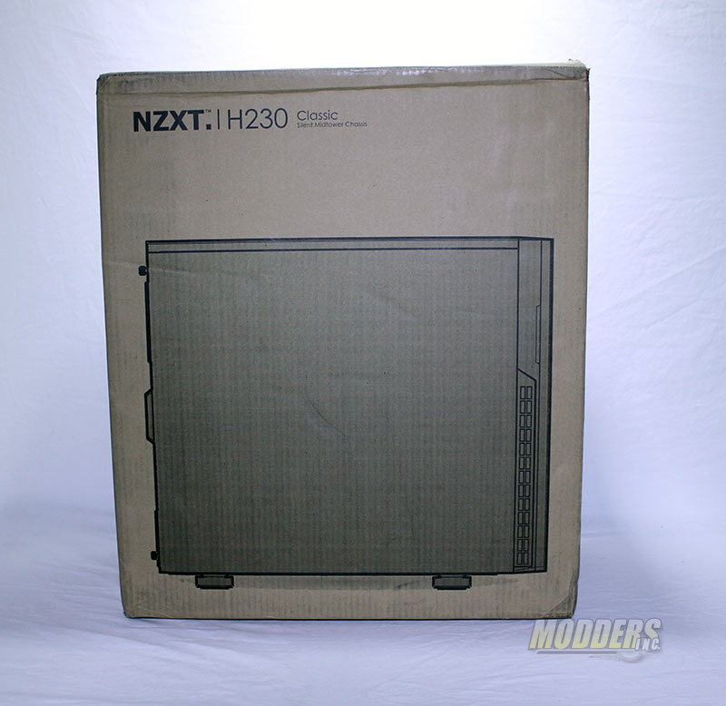 NZXT H230 Computer Case Shipping Box