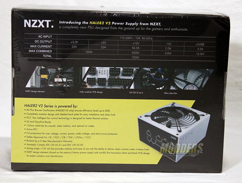 NZXT HALE82 v2 700 Watt Modular Power Supply Review 700W, NZXT, power supply 2