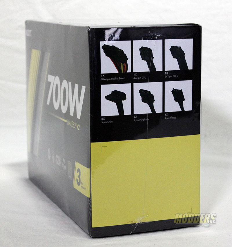 NZXT HALE82 v2 700 Watt Modular Power Supply Review 700W, NZXT, power supply 3