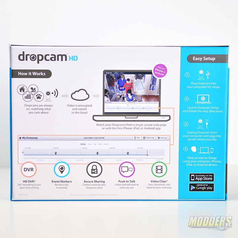 dropcam wireless ip camera
